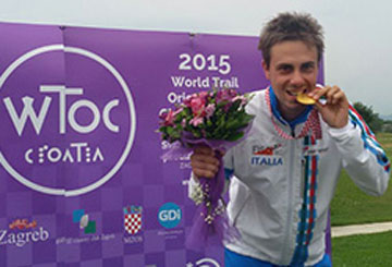 CERA: oro Mondiali Assoluti TRAIL-O 2015