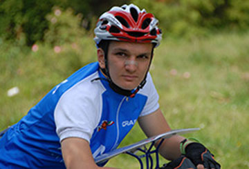GUIZZARDI: 2° Europei Junior MTBO 2011