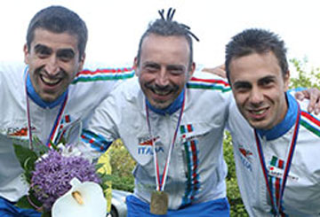 Campioni Europei Staffetta Trail-O 2016