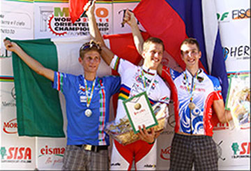 ROSSETTO: 2° Mondiali Junior MTBO 2011