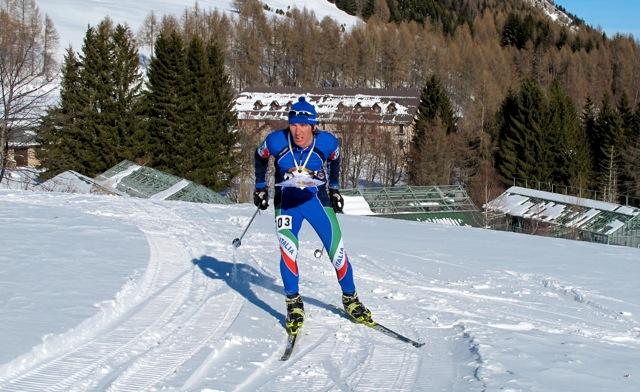 Gabriele Canella in azione